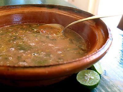 Purslane-soup