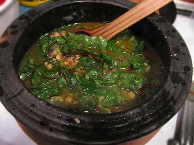 ... World kitchen and gardens: Swiss Chard Soup with Chickpeas and Barley