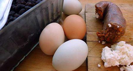 Beans-eggs